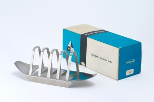 1957, the first Design Centre Award - close up of Campden toast rack - Image courtesy of Robert Welch Design Studio