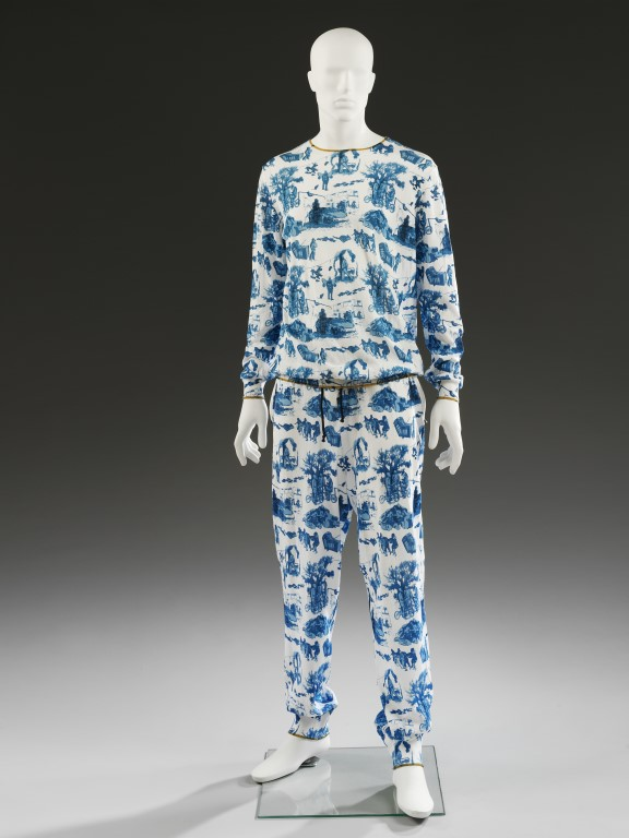 Mans top and pants designed by Sibling SS 2013 - Victoria and Albert Museum London