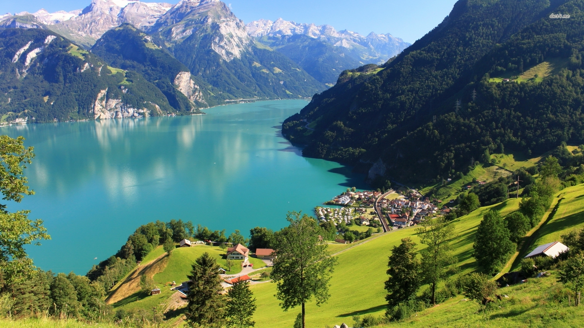 Passport Chop - Lake Lucerne Switzerland