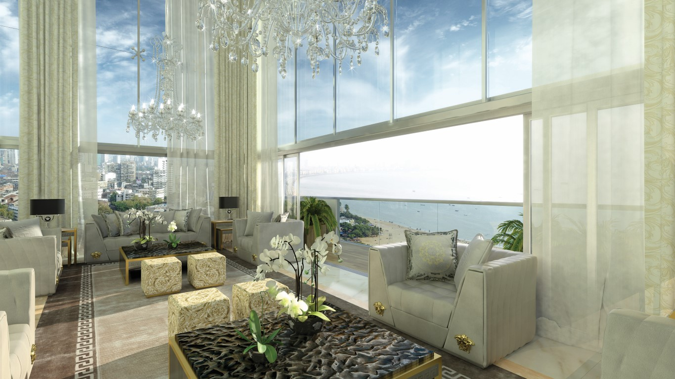 Versace to design the interiors of mumbai s uber luxe abil Amara homes