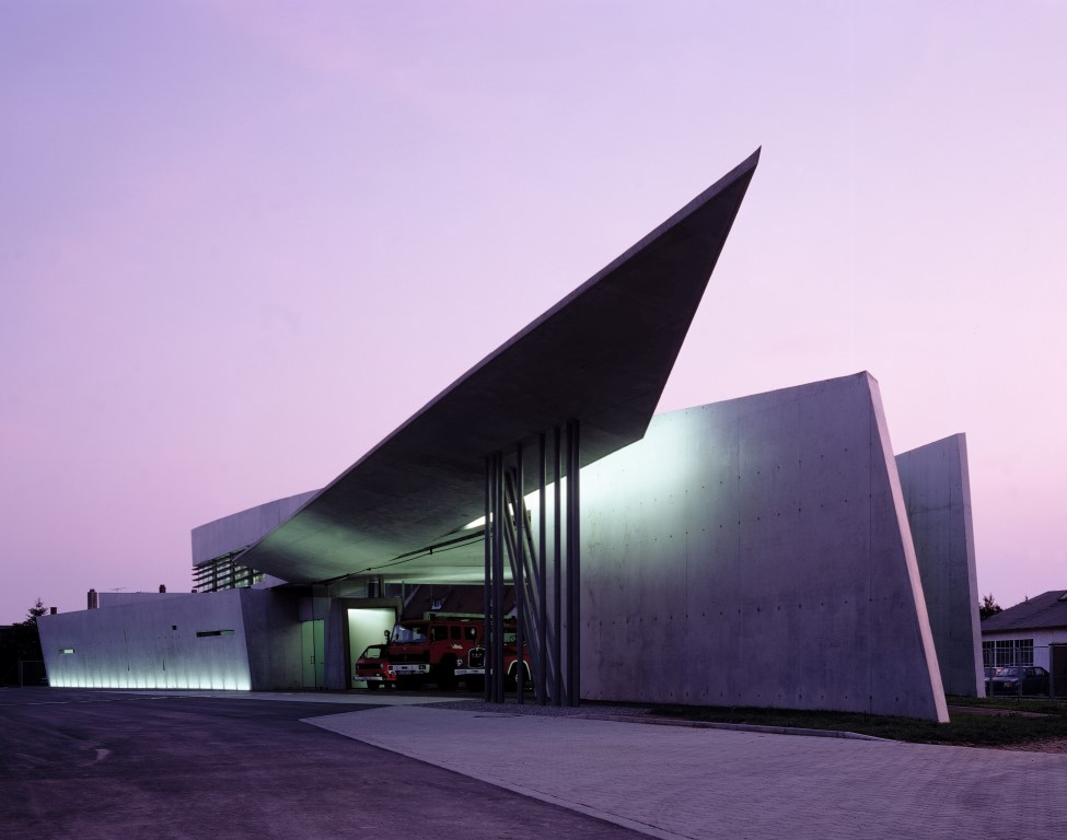 Vitra Fire Station, Weil am Rhein, Germany - Image courtesy of Christian Richters