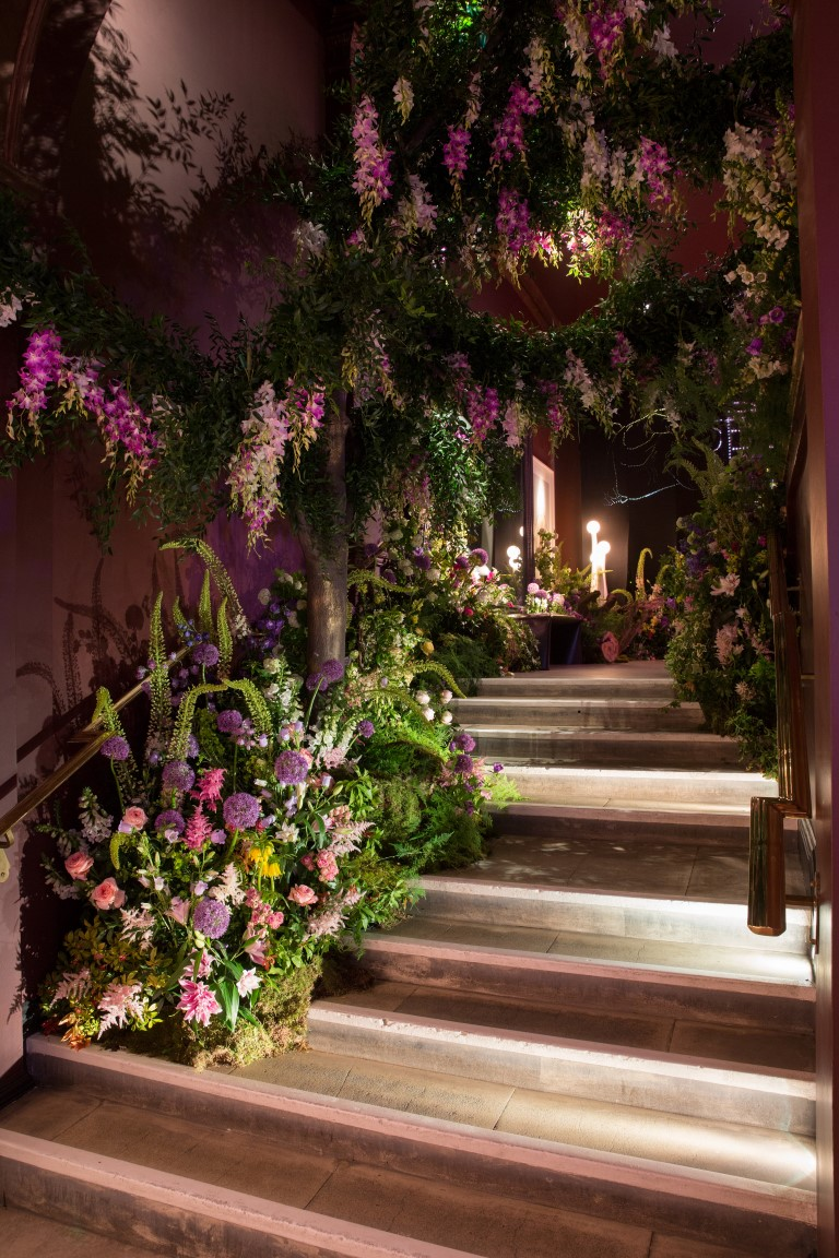 Midnight into Titania's Garden - Image courtesy of sketch London