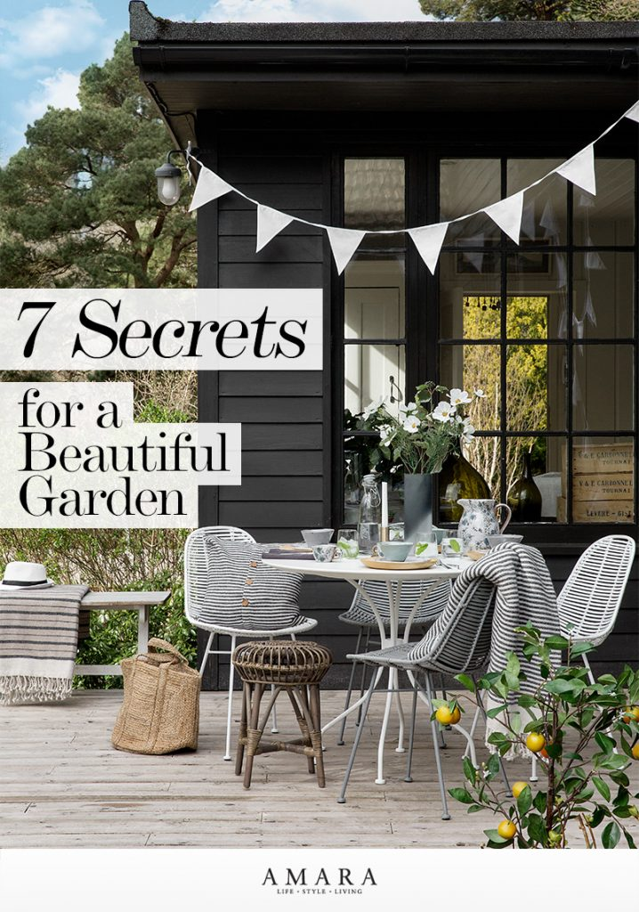 7 Secrets for a Beautiful Garden | Read more on The LuxPad
