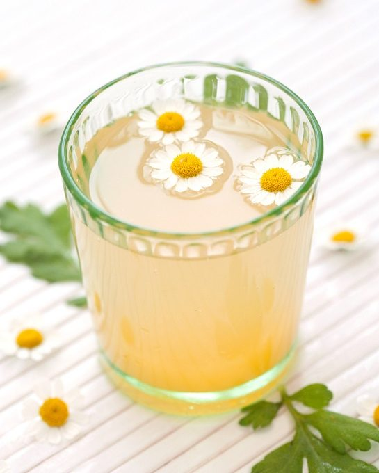 Camomile whisky