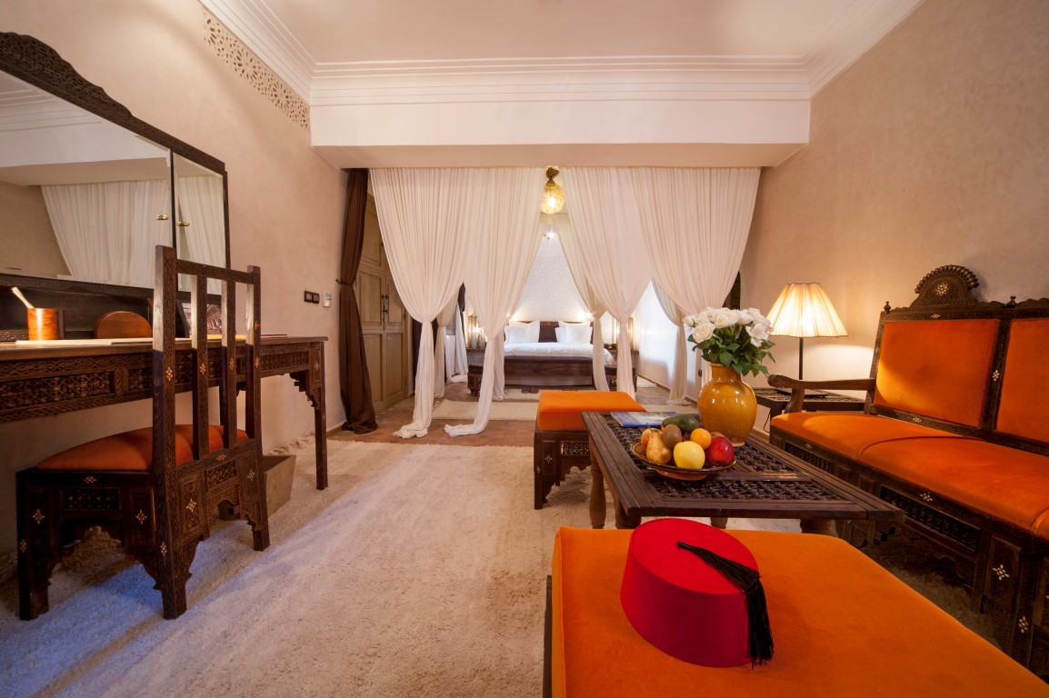 Junior Suite - Image courtesy of Almaha Marrakech