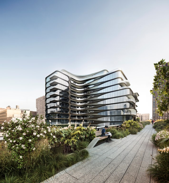 The First Residential Building By Zaha Hadid Architects In
