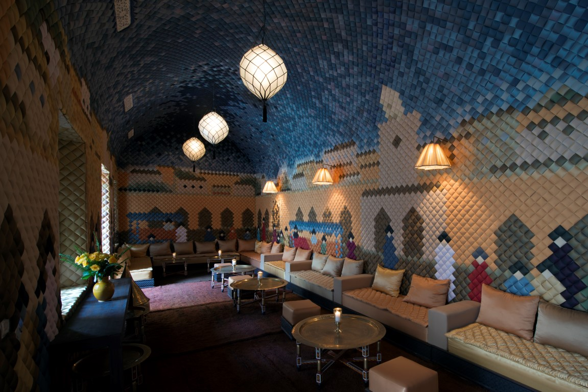 The Pixel Room - Image courtesy of Almaha Marrakech