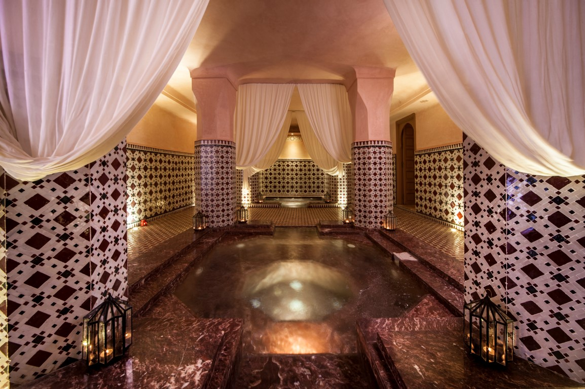 The hammam & spa - Image courtesy of Almaha Marrakech
