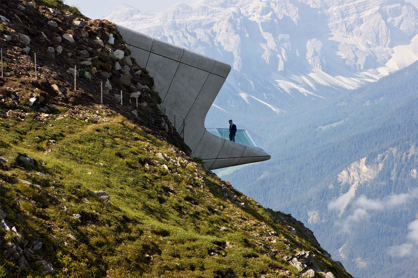 Messner Mountain Museum Corones, Plan de Corones, Italy, by Zaha Hadid Architects - Image courtesy of WAF