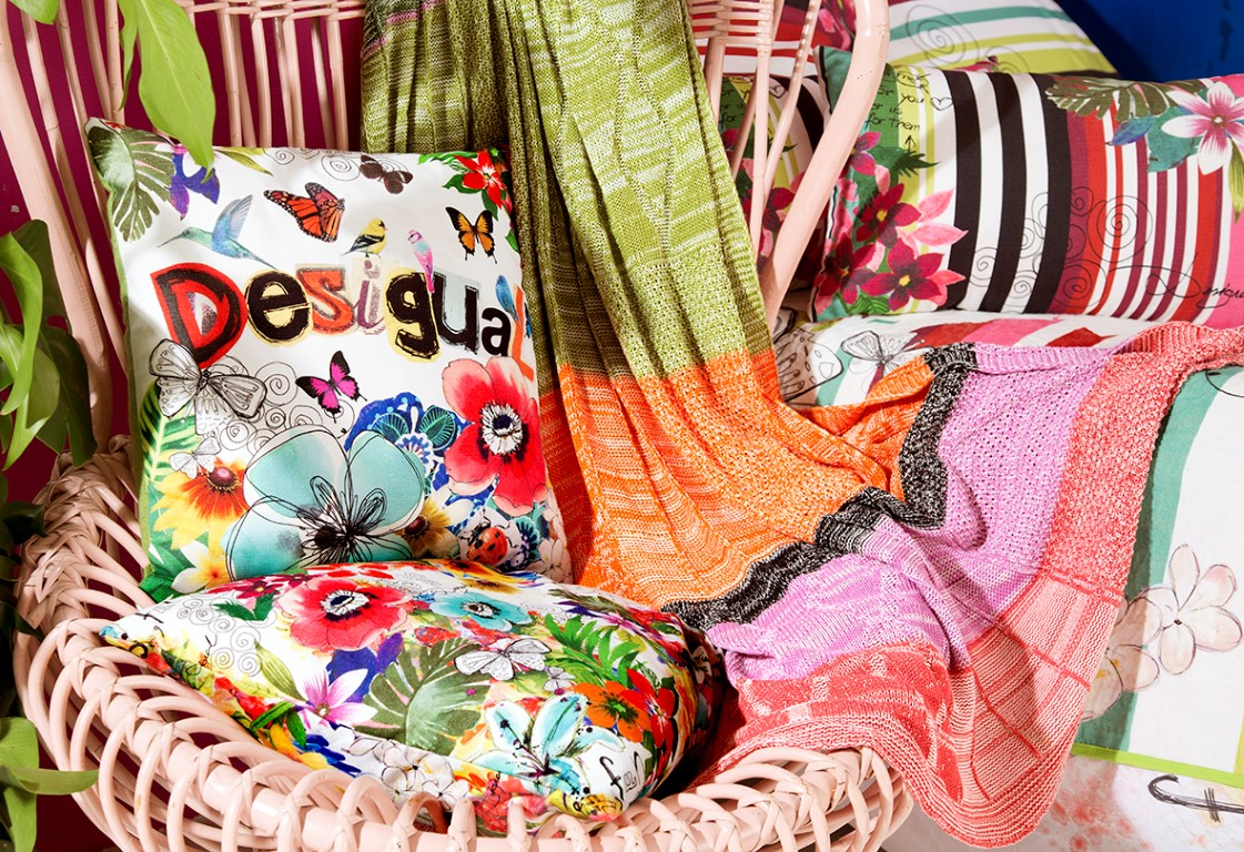 Caribbean Colours - Image courtesy of Desigual