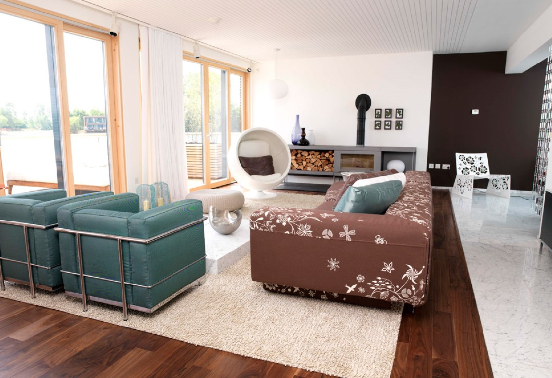 Clayton Lodge Living Area - Image courtesy of The Lakes by yoo