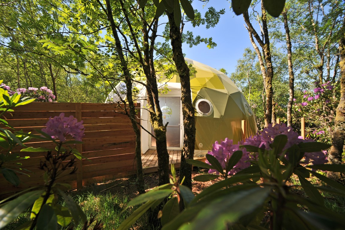 The top unique glamping retreats in europe for Boutique retreats