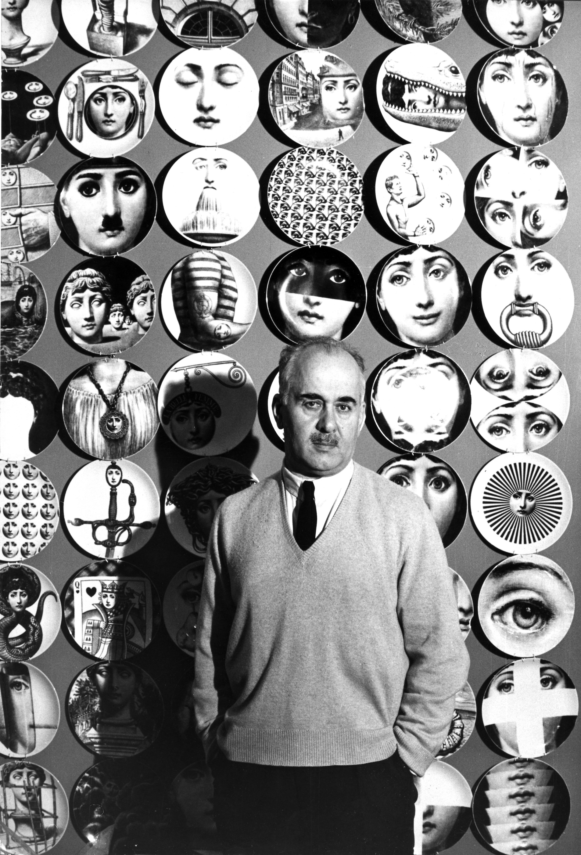 Piero Fornasetti - Photograph by Franco Petazzi