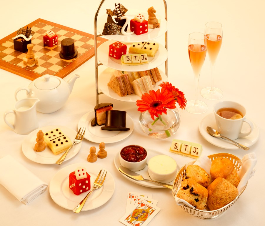 It All in the Game Afternoon Tea - Image courtesy of Niall Clutton