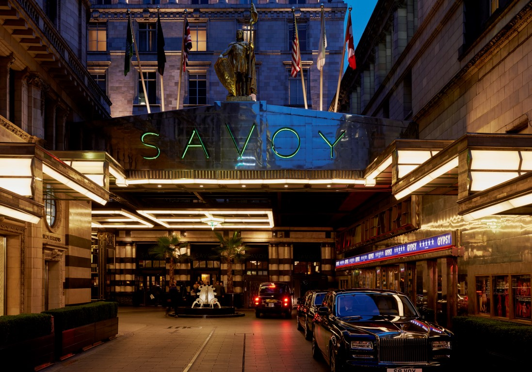 Hotel Exterior - Image courtesy of The Savoy