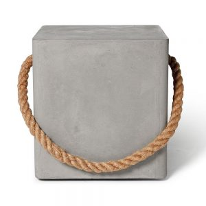 Lyon Beton Concrete Soft Edge Stool
