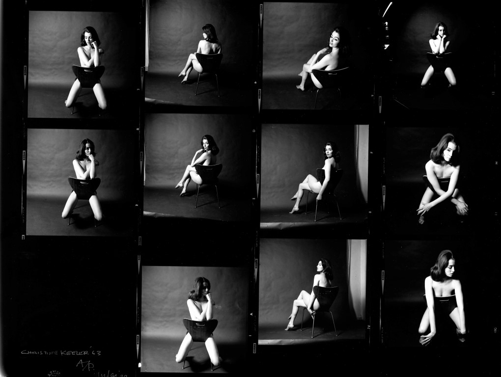 Christine Keeler, photographs by Lewis Morley, Date: 1963 - © Lewis Morley National Media Museum Science & Society Picture Library