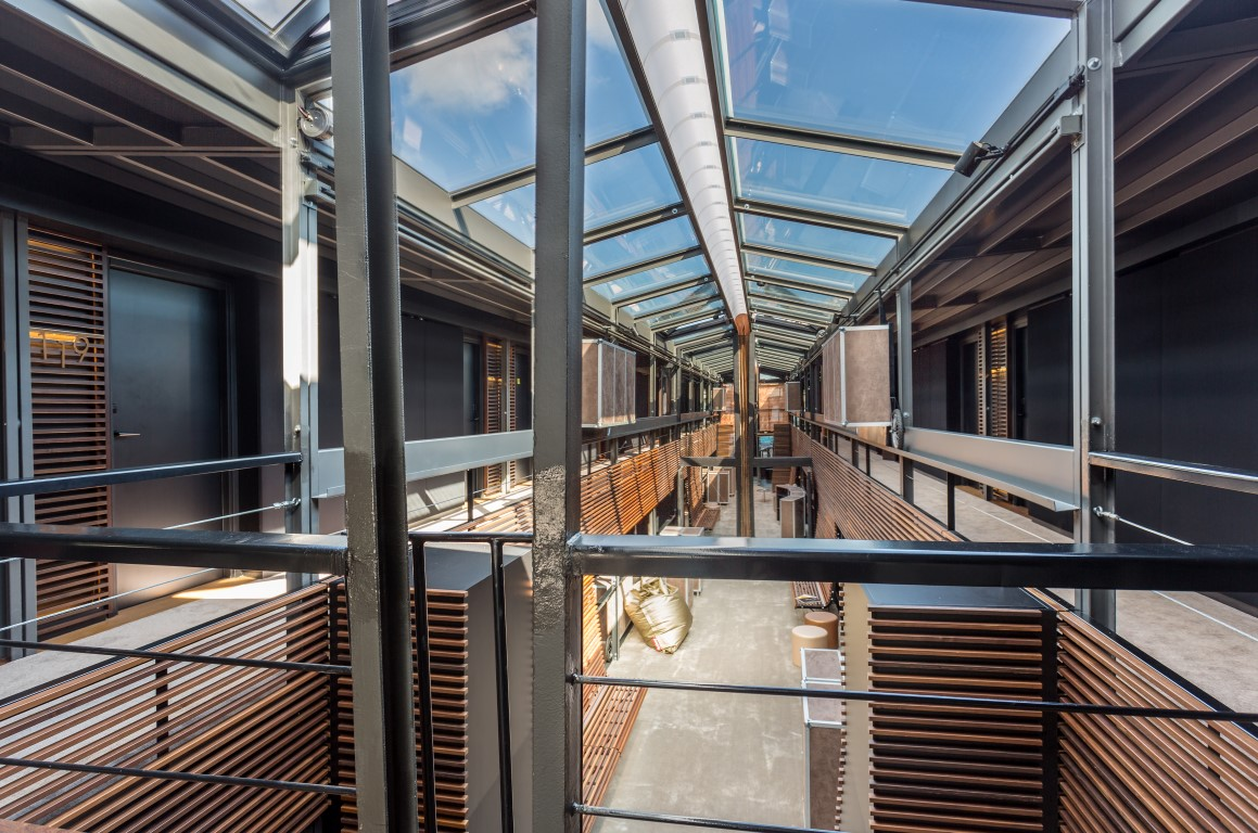Central walkway - Image courtesy of OFF Seine