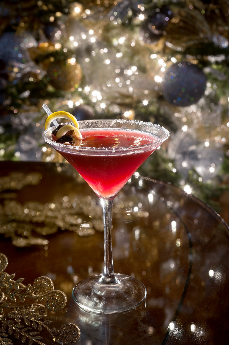 Fig Martini - Image courtesy of the Dorchester Collection