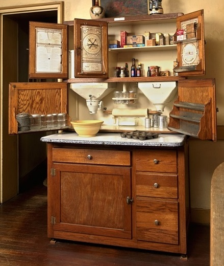 A Hoosier Cabinet - Image courtesy of Historic New England