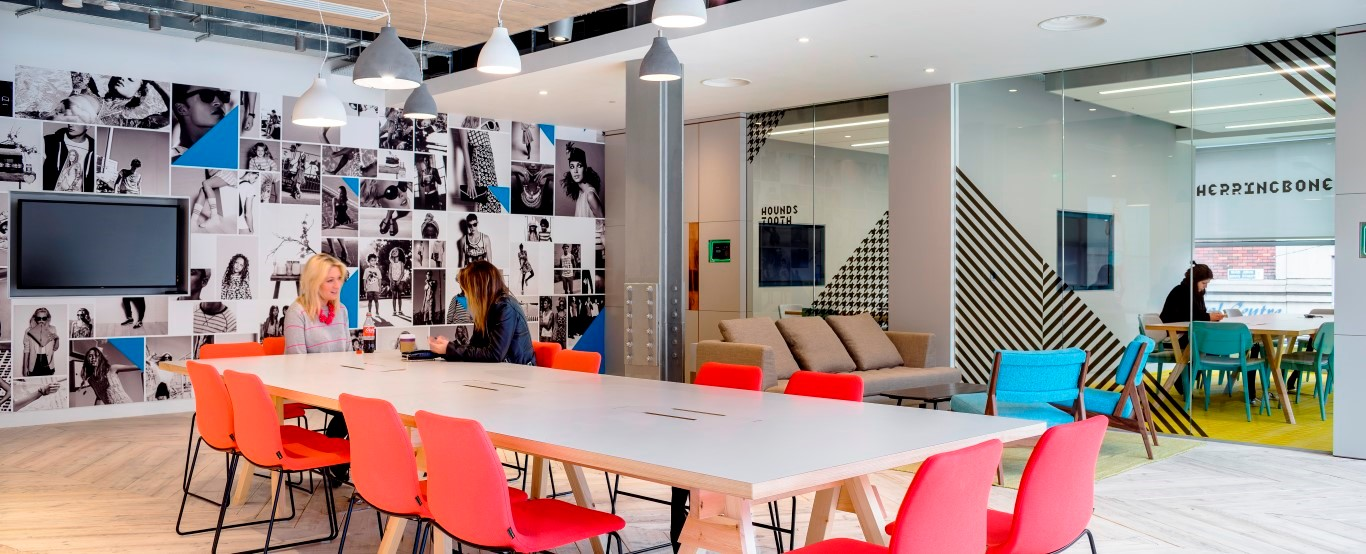 Primark HQ Meeting Room - Image courtesy of MoreySmith