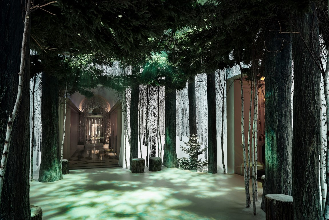 An Enchanted Forest Arrives At Claridges