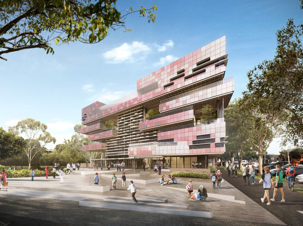South Melbourne Primary School by Hayball - Image courtesy of WAF