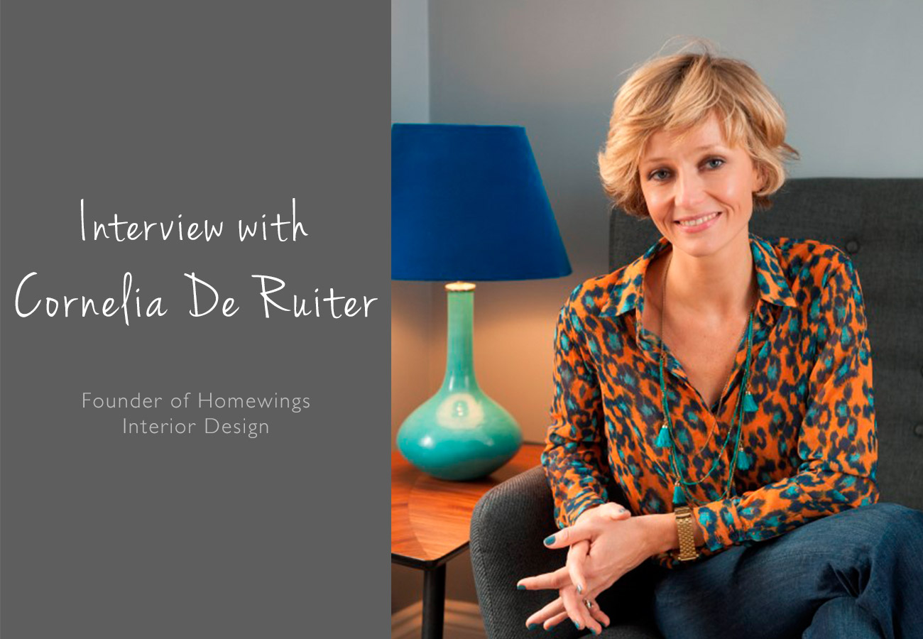 Interview With Cornelia De Ruiter Founder Of Homewings Interior Design The Luxpad