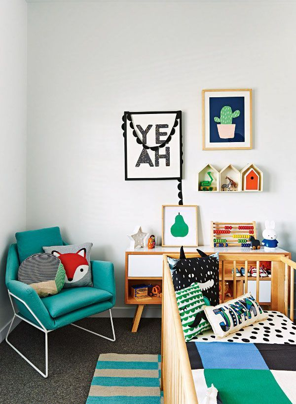 27 Stylish Ways to Decorate your Children\'s Bedroom - The LuxPad