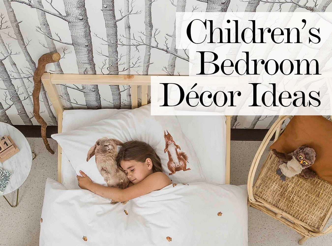 19 stylish ways to decorate your childrens bedroom