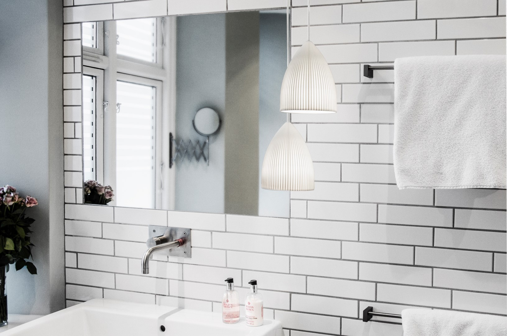 Top 6 bathroom tile trends for 2017 the luxpad bathroom tiles trends dailygadgetfo Gallery