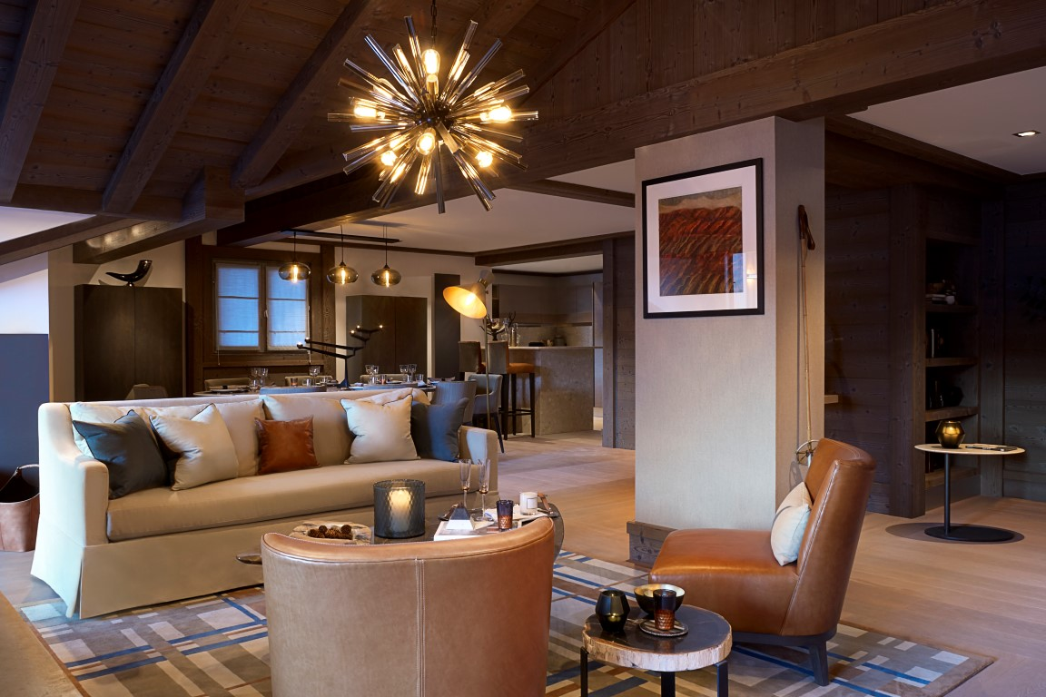 Lovely Incredible Chalet Chic Interiors At Six Senses Residence Courchevel