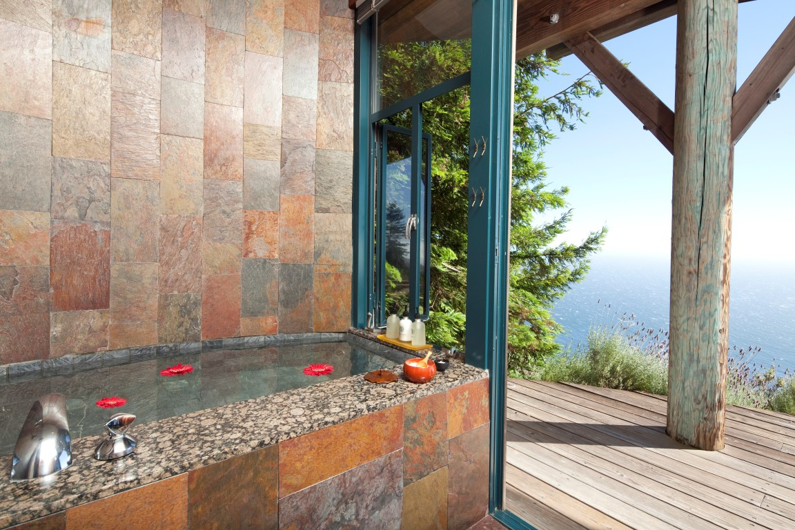 Luxury Bathrooms at Post Ranch Inn – Big Sur, California