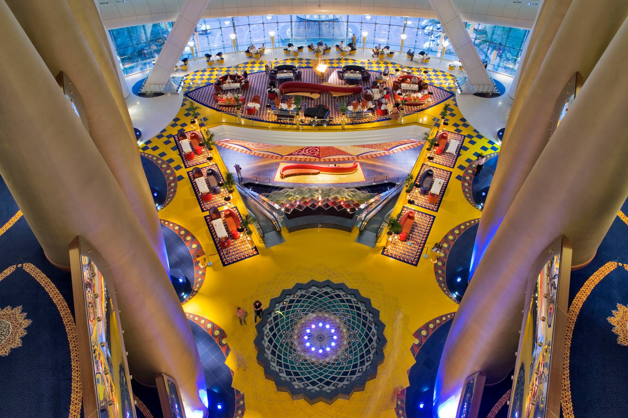 Burj al arab inside the world s most luxurious hotel for Burj al arab interior