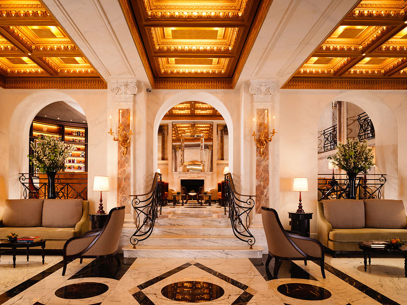 Dorchester collection s hotel eden reopens in rome for Top design hotels rome