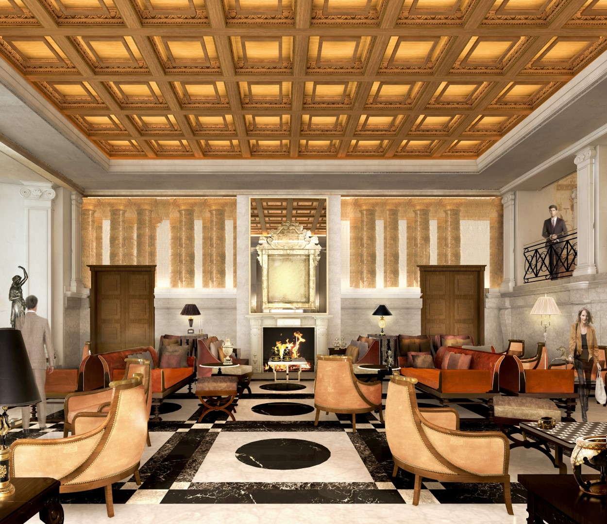 Dorchester collection s hotel eden reopens in rome for Design hotel eden