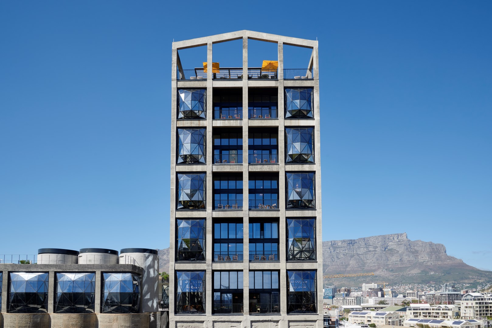 The Silo Hotel Opens Its Doors At The Base Of Table Mountain Cape Town - Table mountain hotel cape town