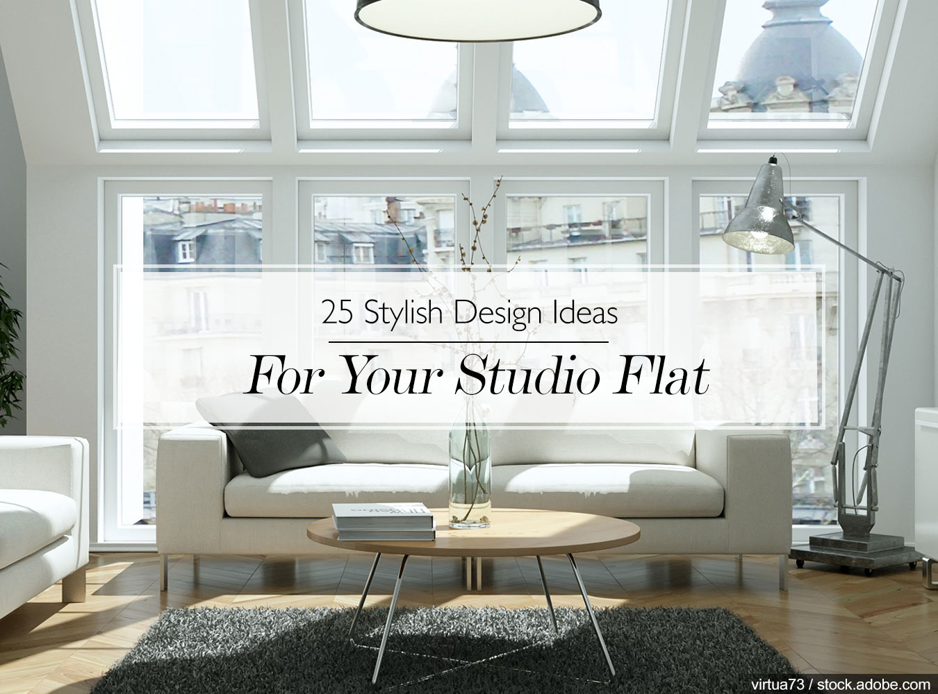 make living room spacious using simple and smart tricks the interior design company Particularly common amongst city dwellers, the studio flat is a property  type becoming increasingly popular. Living in an open-plan city apartment,  ...