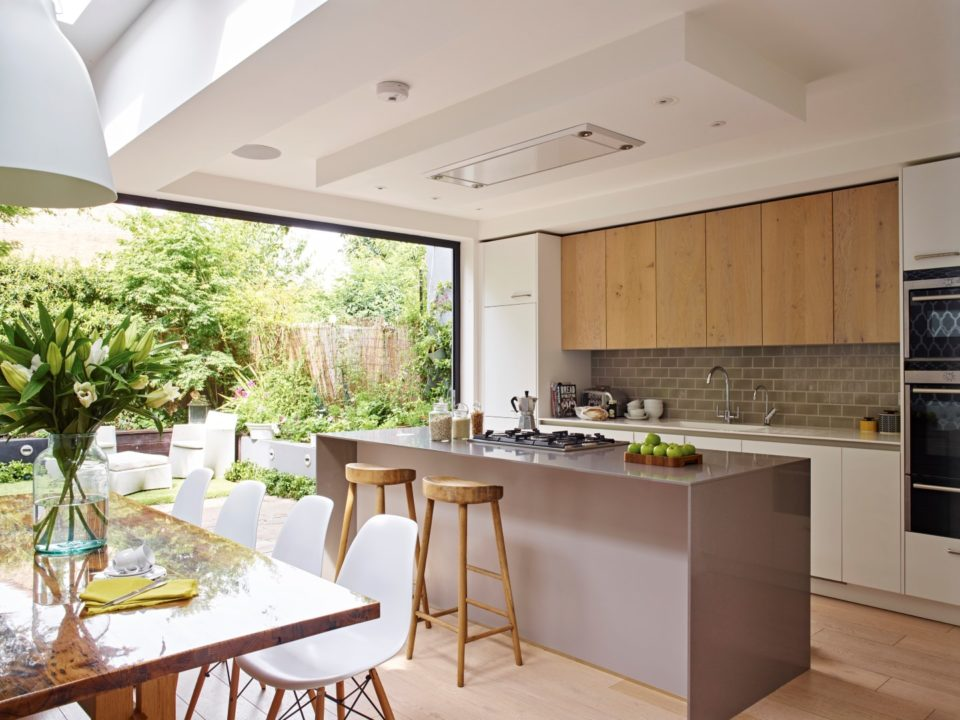 A complete west london kitchen redesign extension by for Kitchen design london