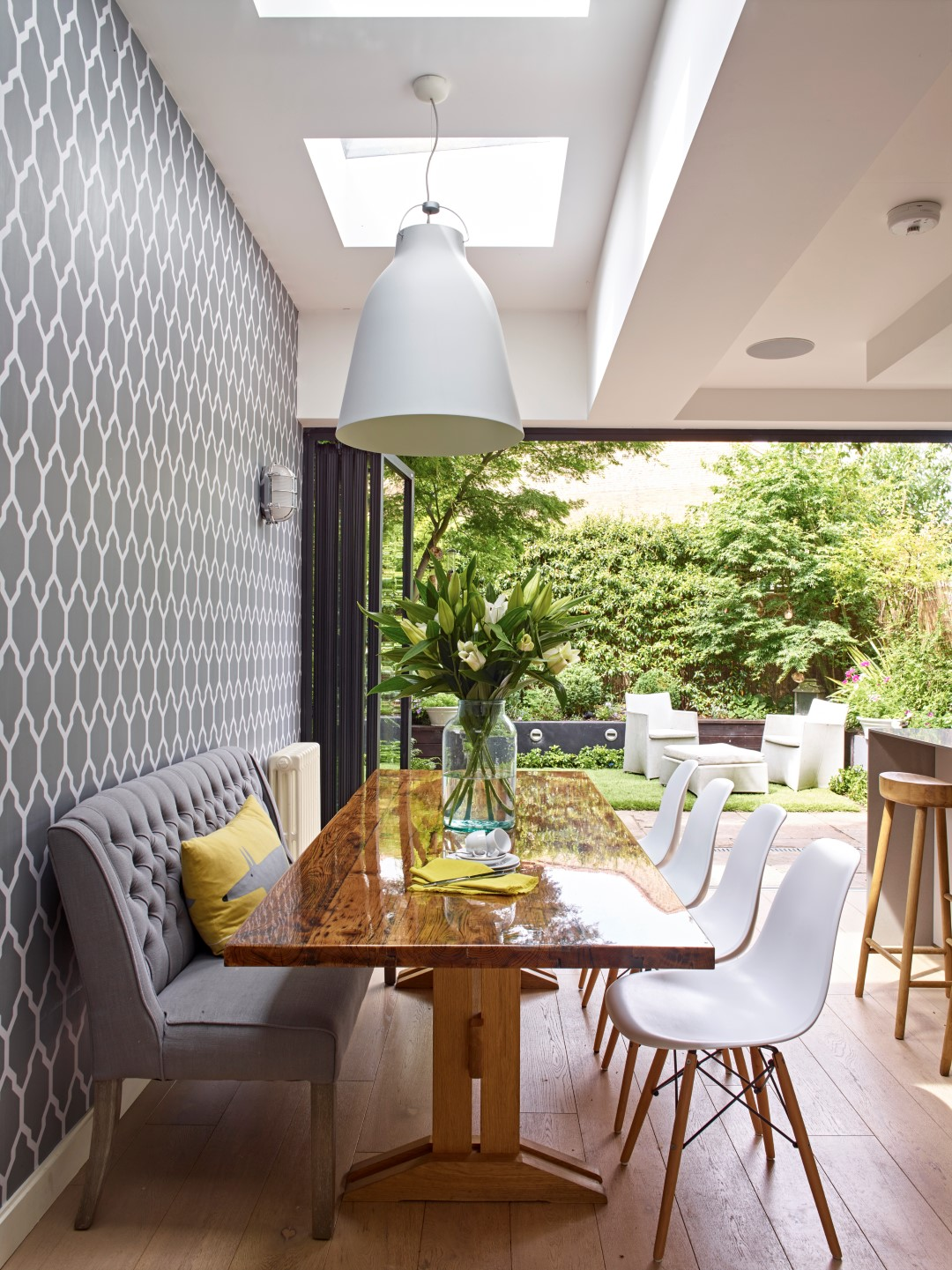 a complete west london kitchen redesign extension by holloways holloways of ludlow
