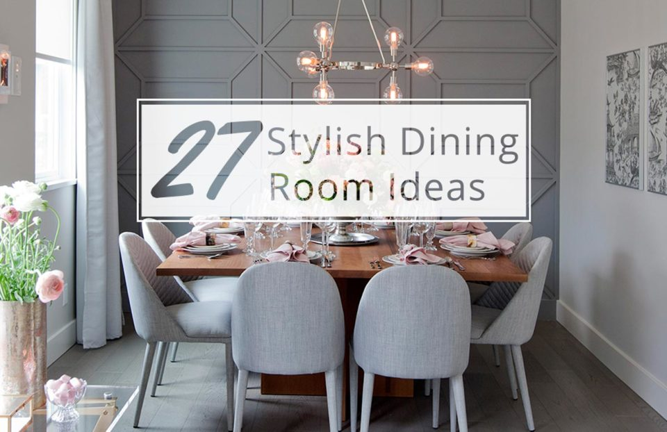 27 stylish dining room ideas to impress your dinner guests for Dining room accessories