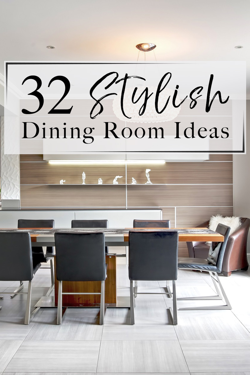 Awesome Dining Room Decor Ideas