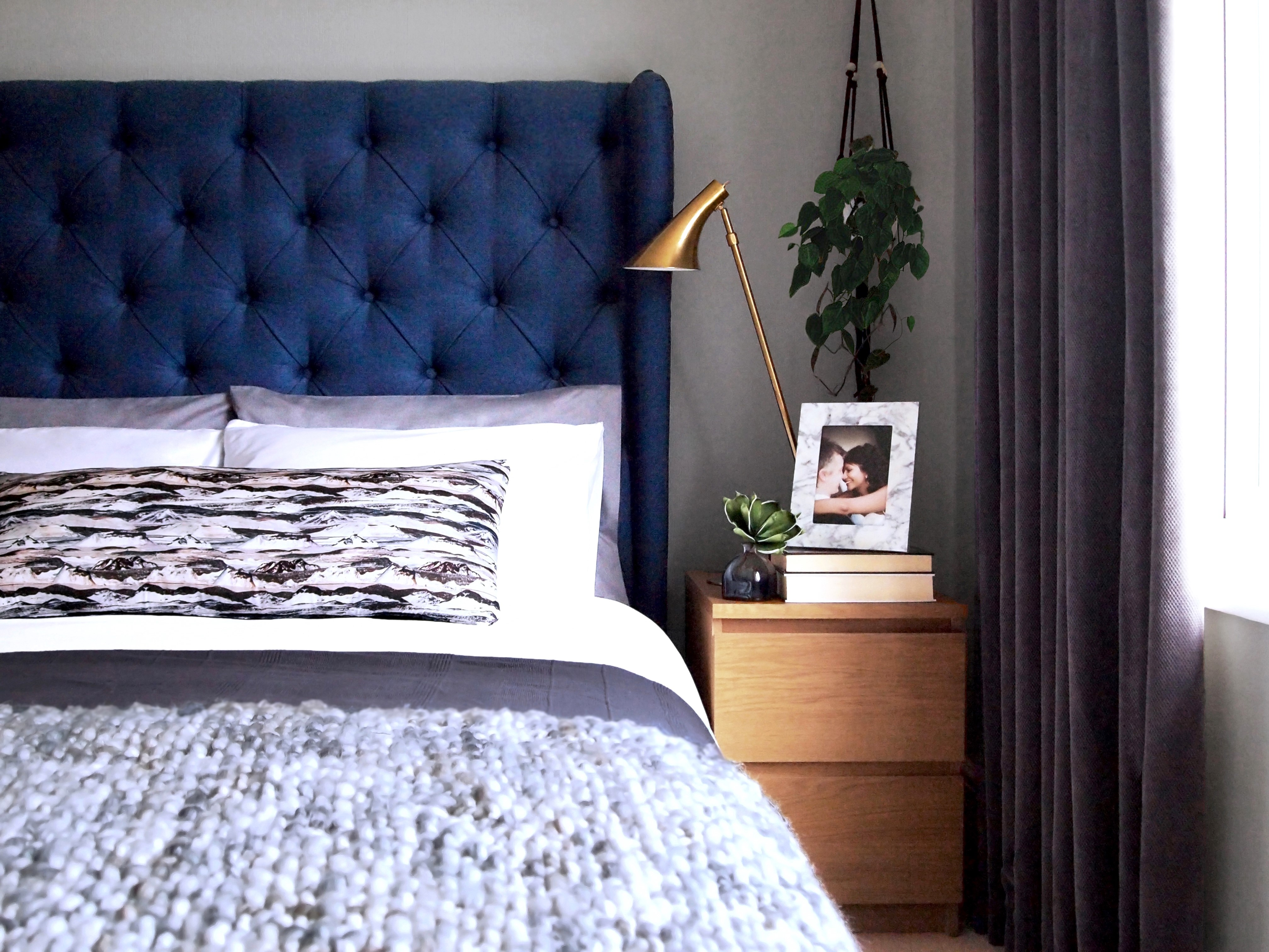 Arty Home Bedroom Colour Scheme Ideas