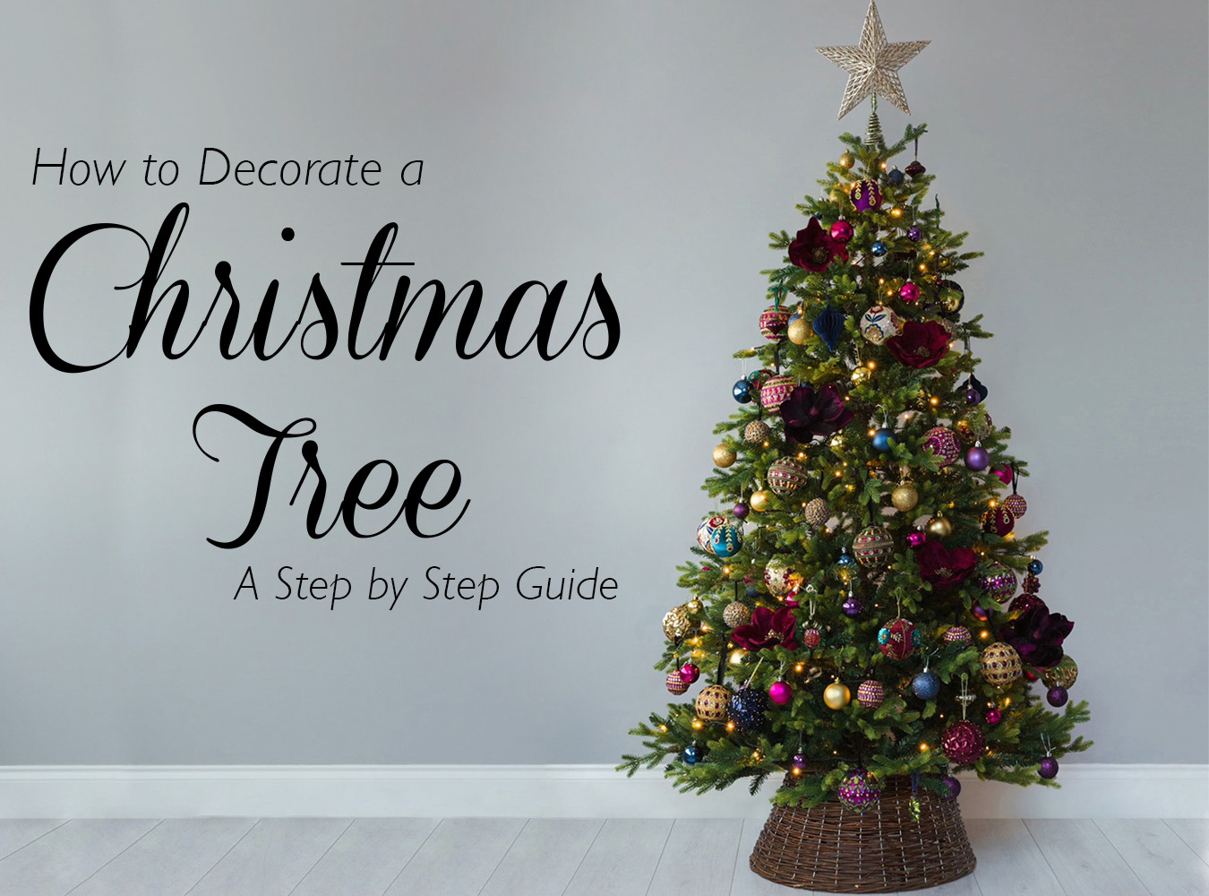 Do you covet the professionally decorated Christmas trees in shop windows? Amara's Creative Director, Sam Hood, is here to share 8 simple steps to achieving ...