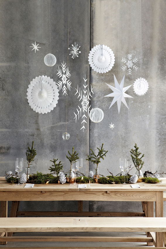 Archie And The Rug Christmas Table Decoration Ideas