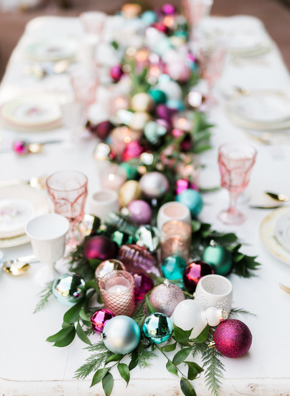 Loved By Elena Christmas Table Decoration Ideas