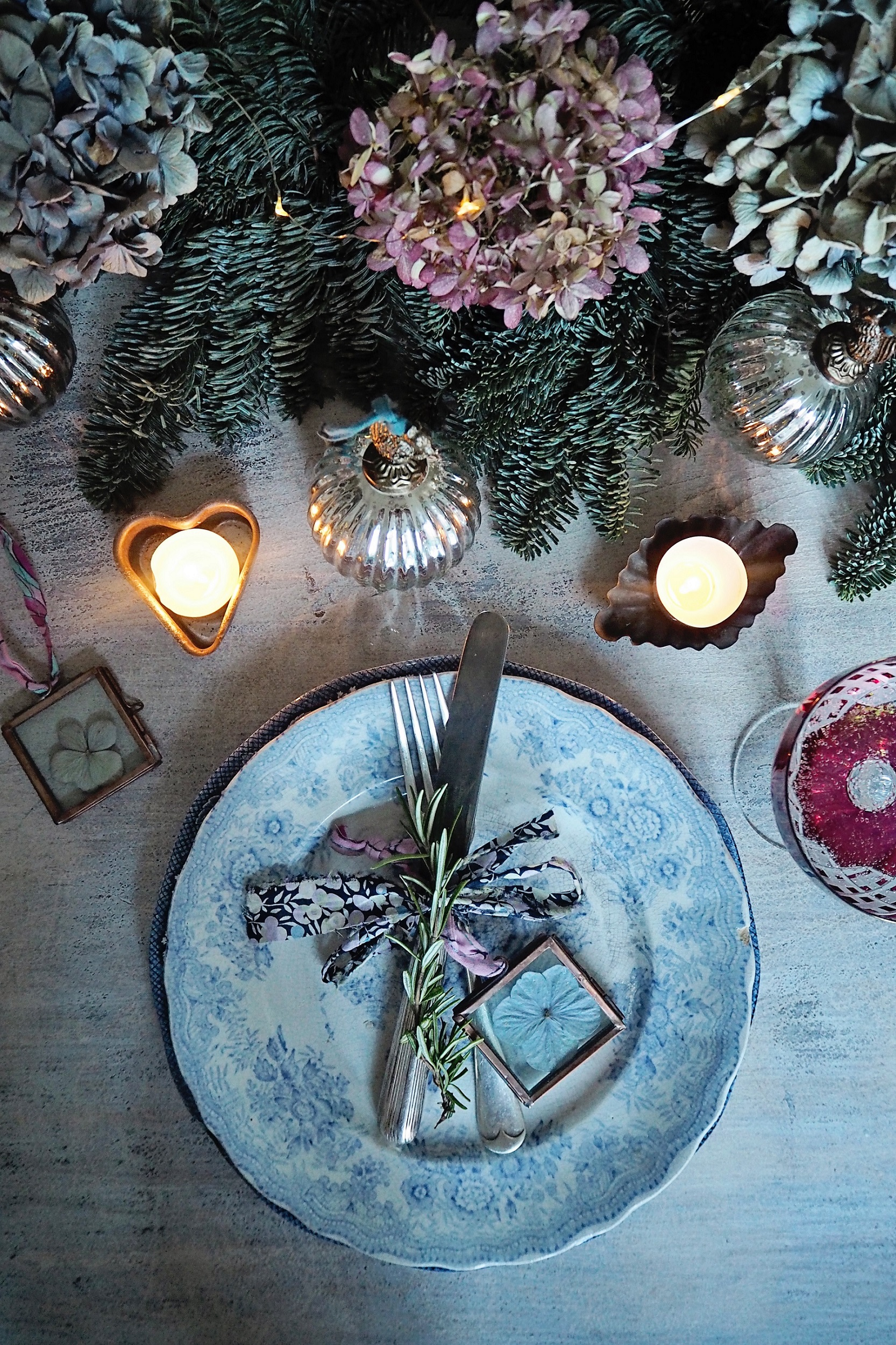 Tamsyn Morgans Christmas Table Decoration Ideas