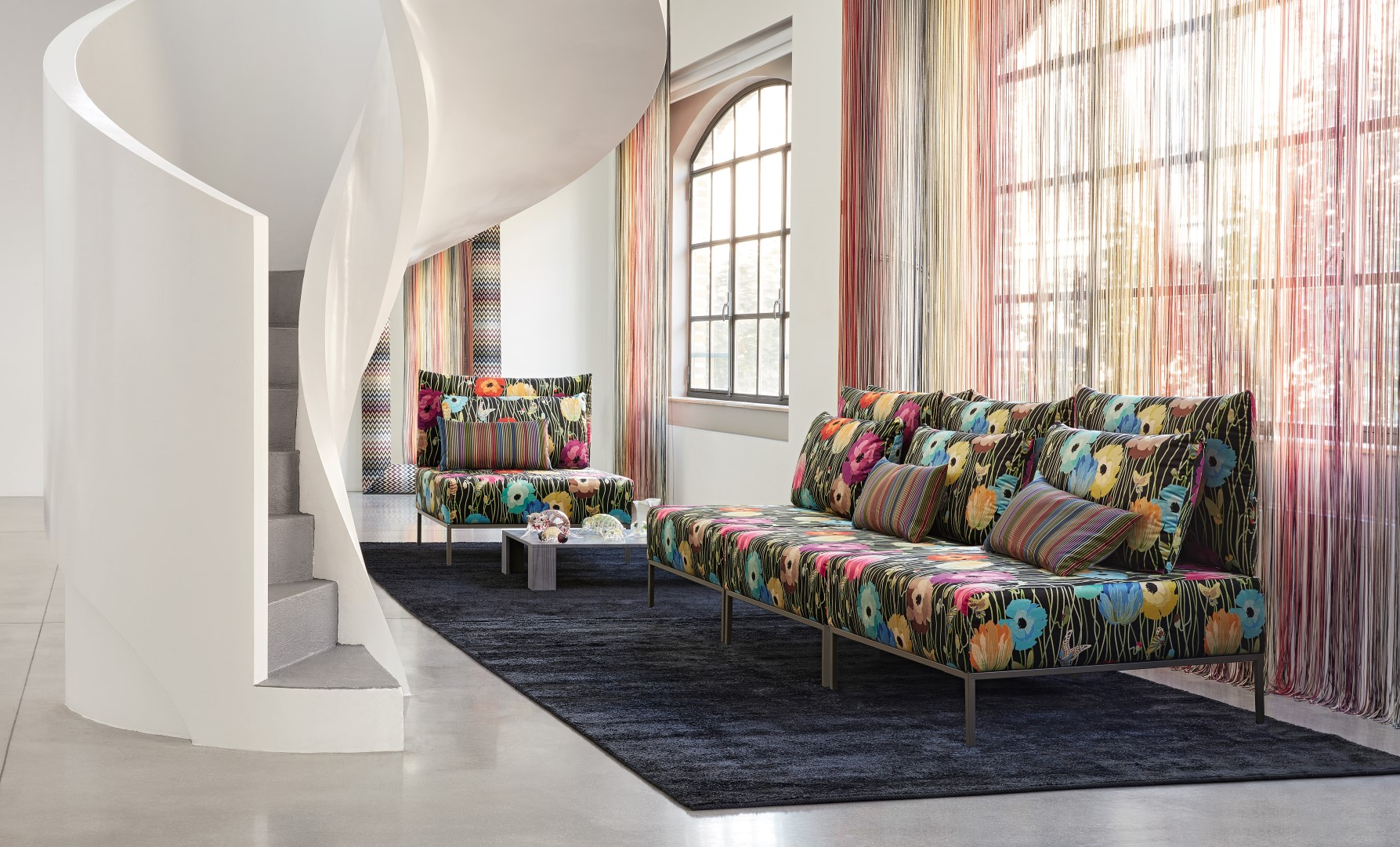 Missoni Home Paris introducing the missoni home 2018 collection
