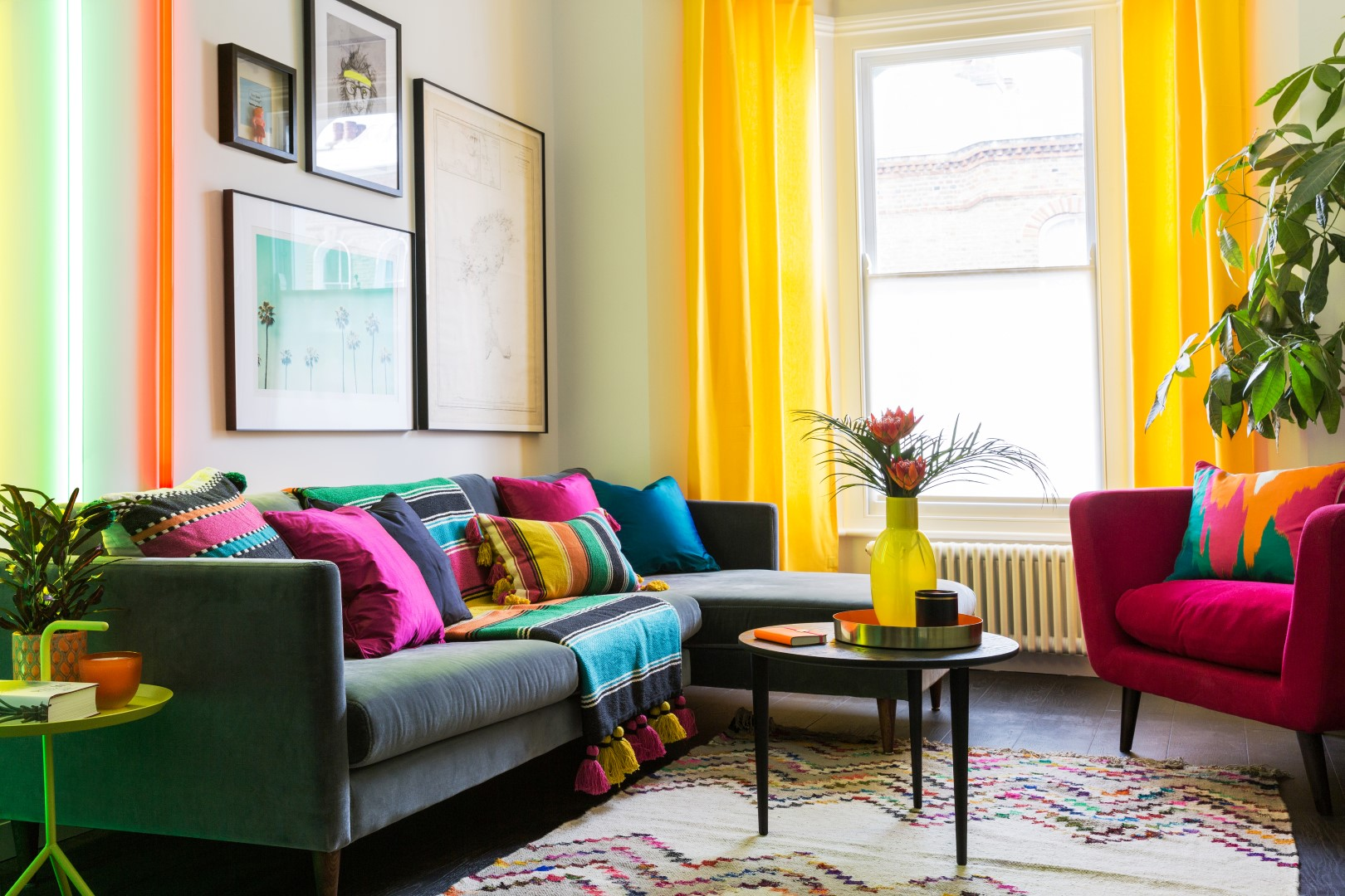 Colourful Interior Design Ideas