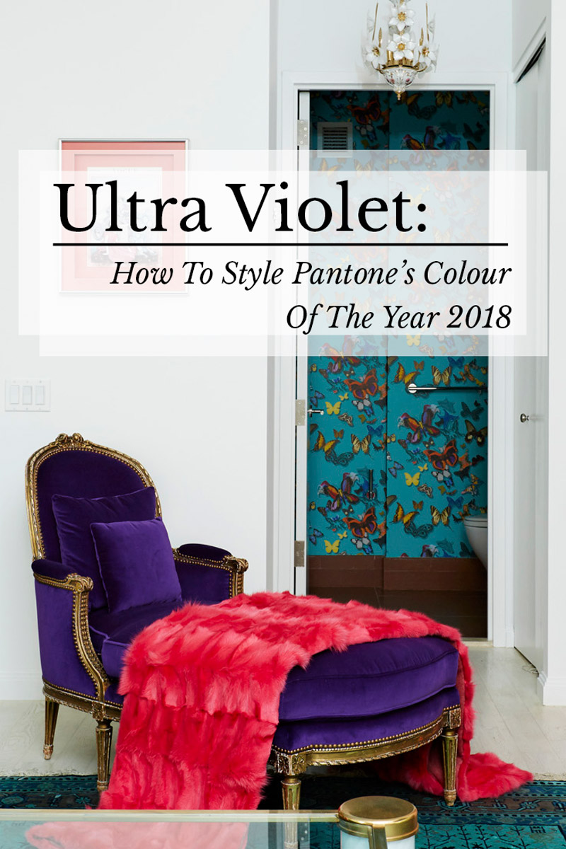 Ultra Violet Pantone Colour of the Year 2018